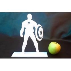 Captain America - Blanc - 22cm