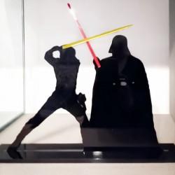 Combat Luke / Dark Vador -...