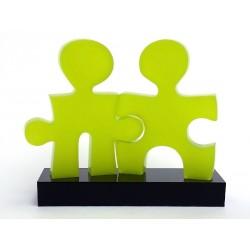 Wezzle - Vert Anis - 7.5x5.5cm